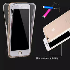 TPU Shockproof Soft Silicone Protective Cover Rubber Transparent Case for iPhone