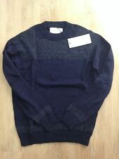 NWT PATRIK ERVELL Navy Icelandic Sweater Size Small Made in USA