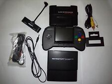 RetroDuo Portable (RDP) Handheld Console V2.0 CORE Edition Black + gba adapter