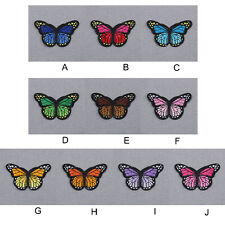 Fashion Embroidered Applique Butterfly Iron Sew On Patch DIY Accessories