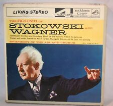 """7"""" Reel Tape- The Sound Of Stokowski And Wagner 7.5 IPS Bx B Play tested"""
