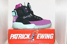 Mens Ewing Athletics Patrick Ewing 33 HI Charlotte Edition Black / Purple / Teal