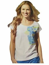 New Crivit Women Ladies Casual / Active wear T-Shirt / Top Short Sleeve White (S