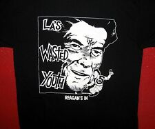 """WASTED YOUTH """"Reagans In"""" Men's New T-Shirt 100% Cotton HARDCORE Pushead Design"""