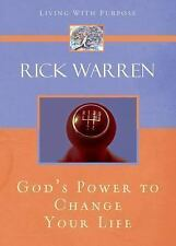 NEW - God's Power to Change Your Life (Living with Purpose)