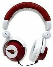 Arizona Cardinals NFL Licensed iHip DJ Style Noise Isolating Headphones