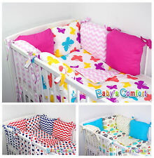 Baby's Comfort 12 PCS BABY BEDDING SET with PILLOW BUMPER for cot / cotbed