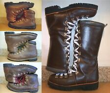 MENS BROWN MOUNTAINEERING CLIMBING BOOTS GRONELL CAMP 7 MONTBLANC RAICHLE VASQUE