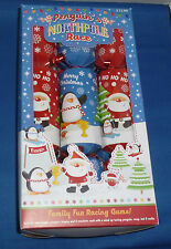 PENGUIN'S NORTHPOLE RACE - FAMILY FUN RACING GAME-  CHRISTMAS CRACKERS