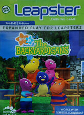 THE BACKYARDIGANS (2006) Leapster Learning Game Nick Jr TESTED & COMPLETE 1