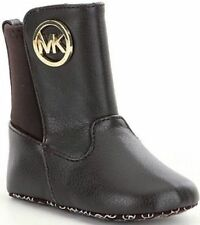 NIB MICHAEL MICHAEL KORS BABY/INFANT LIZY GIRLS BOOTS 888 SIZE 4 BROWN $40 MSRP