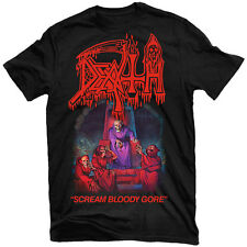 DEATH Scream Bloody Gore Shirt