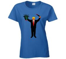 Trump Holding Head Of Statue Of Liberty T Shirt