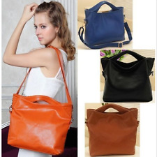Womens Leather Vintage Shoulder Bag Handbag Tote Hobo Purse Fashion Korean