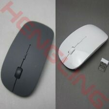 2.4GHz USB Slim Wireless Optical Mouse Mice for Apple Mac Macbook Pro Air PC