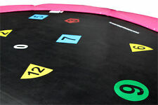 10ft Printed Trampoline Mat (64 Spring) - 2 Year Warranty -  Free Delivery