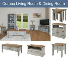 Living Dining Room Furniture Sideboard Bookcase TV Unit Coffee Table Grey Wash