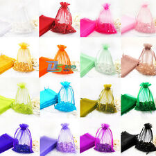 25 X 7*9cm Organza Pouch Jewelry Gift Candy Wedding Party Favor Decoration Bags