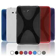 Samsung Galaxy Tab 3 Lite 7.0 TPU Case Cover X-Style + protective foils
