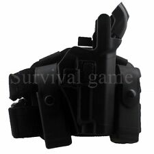 Tactical Right Drop Leg Thigh Level 3 Lock Duty Pistol Holster f/ SIG SAUER P226