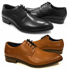 New Mens Smart Office Wedding Shoes Italian Dress Formal Work Casual Size Party