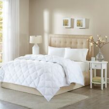 Luxury White Hypoallergenic Wool & Synthetic Fibers Comforter