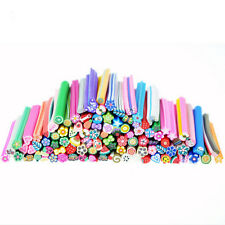 50PCS Style Avilable Nail Art Fimo Canes Rods Sticks Stickers Tips 3D Decoration