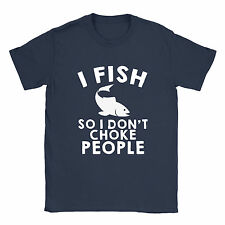 I Fish So Mens T-Shirt Funny Joke Angling Fishing Dad Birthday Gift Present