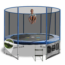 12ft Round Summit Trampoline - Blue - Free Delivery