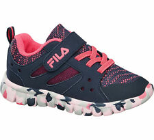 Deichmann Fila children Fila Infant Girls Lace-up Trainers navy New