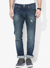 Levi's Blue Washed Skinny Fit Jeans (65504)