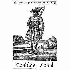 Calico Jack Buccaneer Jolly Roger Pirates of the Caribbean Spanish Main T-Shirt