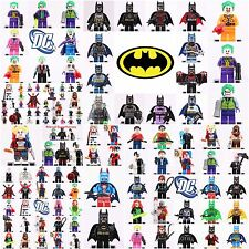 Dc comics Batman Movie Joker Harley Quinn Superhero Set  Mini figure fit Lego