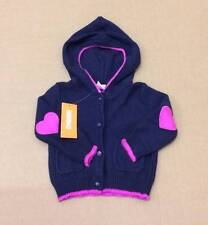 NWT Gymboree Girls Bundled and Bright Hood Cardigan Sweater Size 6-12 M