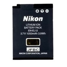 Nikon EN-EL12 Genuine Battery CoolPix XS6100 S9300 S9100 S8200 S8100 S8000 S710