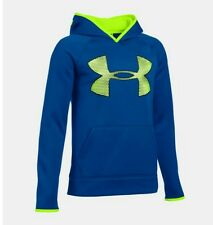 Under Armour UA Storm Armour Fleece Highlight Big Logo Hoodie Big Boys Youth L
