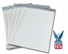 """Size #2 - 8.5""""x11"""" Kraft White Bubble Mailers (SHIPS TODAY)"""