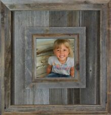 NEW RUSTIC FARMHOUSE DURANGO RECLAIMED BARNWOOD PICTURE PHOTO CANVAS FRAME DECOR