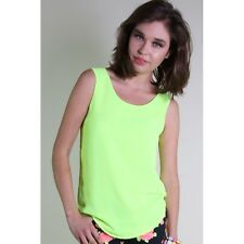 NEW Living Doll Limeade Shell Top