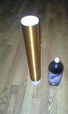 """Copper Tesla Coil Secondary 30awg 6"""" to 20"""" wound on 3.5 inch outer diameter PVC"""