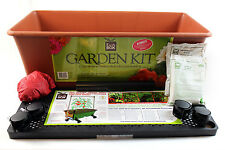 Terracotta EarthBox Ready-to-Grow System - Planter Gardening + Organic Option