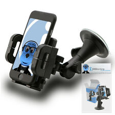 Heavy Duty Rotating Car Holder Mount For Samsung S3650 Genio Touch