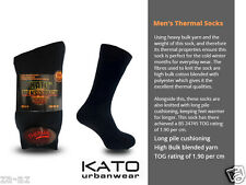 6 Pairs Mens Kato Thick Thermal Work Boot Socks 6 - 11 Extra Warm Winter 1.9 Tog