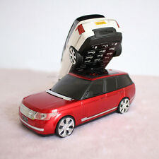 Range Rover Small bar FM Flashlight Dual Cards mobile power bank Mini Cell Phone