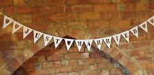 Pretty paper bunting JUST MARRIED or MR&MRS
