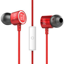Sports Earphone Earbuds w/ Microphone Noise Cancelling for Gym Exercise Gamers