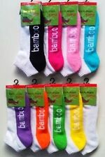 Bamboo Sport socks  2-8 cushion foot  mix colors  top quality  $6