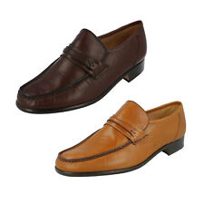 Mens Albany Leather Moccasin G Fitting Shoes by Grenson - £79.99