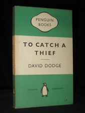 To Catch a Thief DAVID DODGE 1955 Penguin 1st Edition No.1053 Green Crime