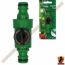 Gardening Hose Pipe Inline Tap Shut off Valve Fitting Connector NEW